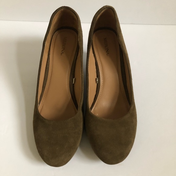 5e092face63f Merona Shoes - Merona Suede Wedges